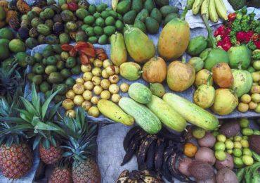 фрукты и овощи на острове Святой Елены
