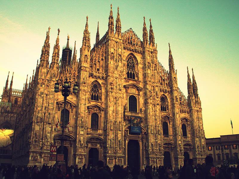 Знакомство с Миланом