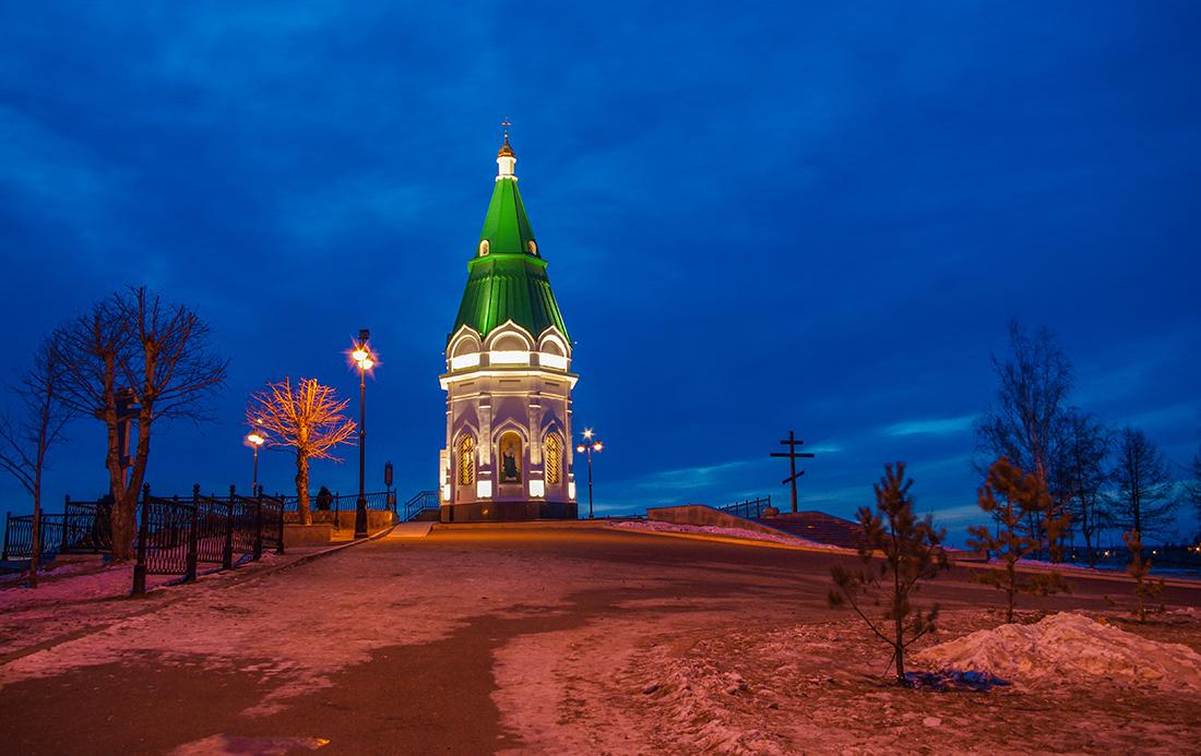 Красноярска – часовню Параскевы Пятницы