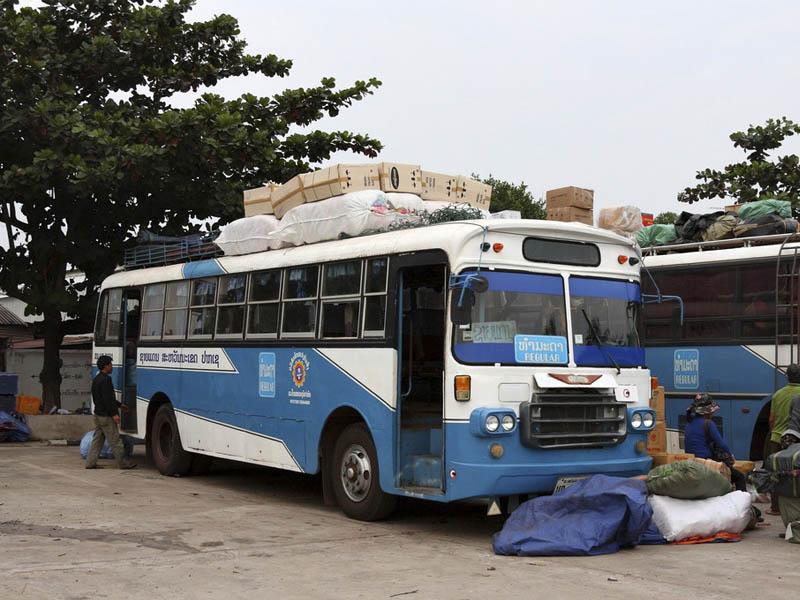 Лаос автовокзал
