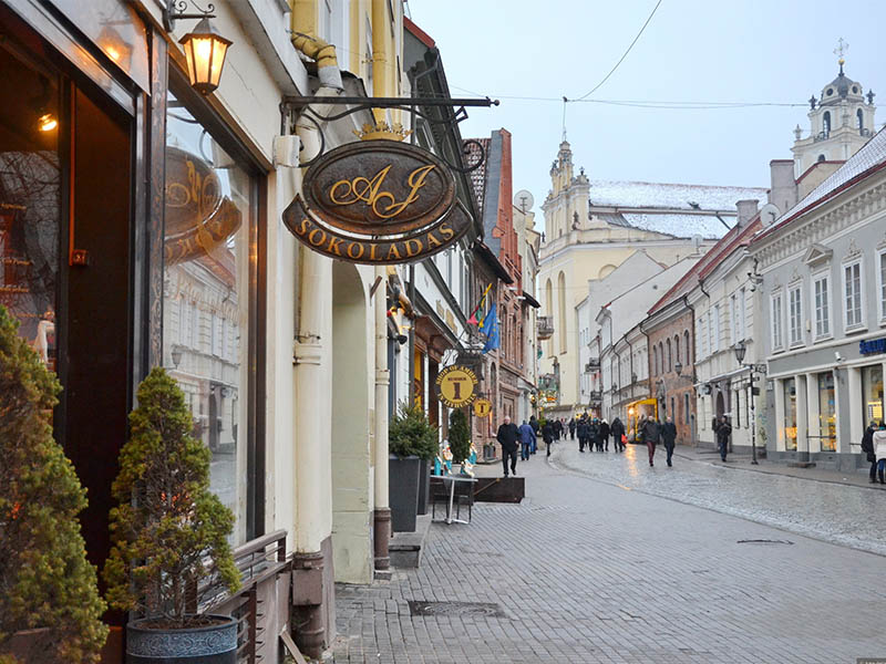 Вильнюс улицу Pilies