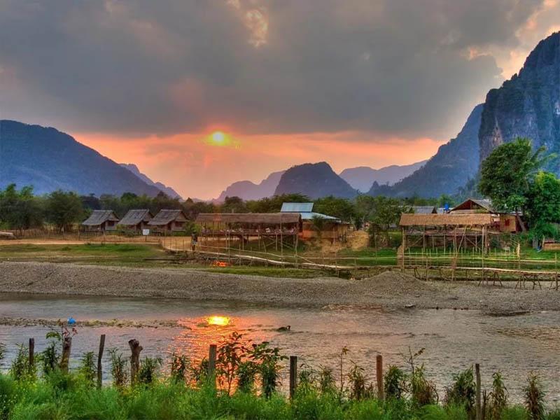Отдых на Лаосе