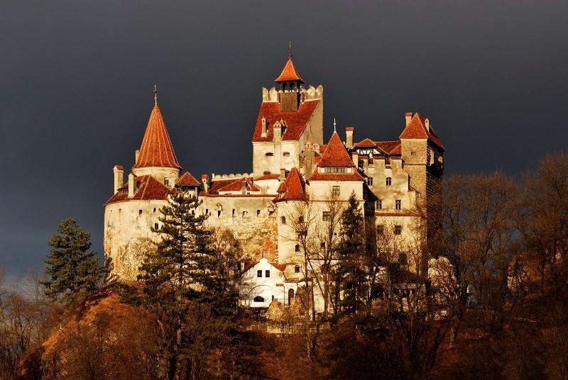 Граф Дракула замок