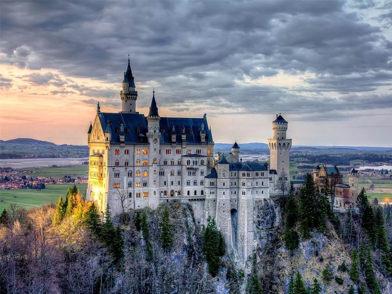 Чудо Германии - замок Нойшванштайн