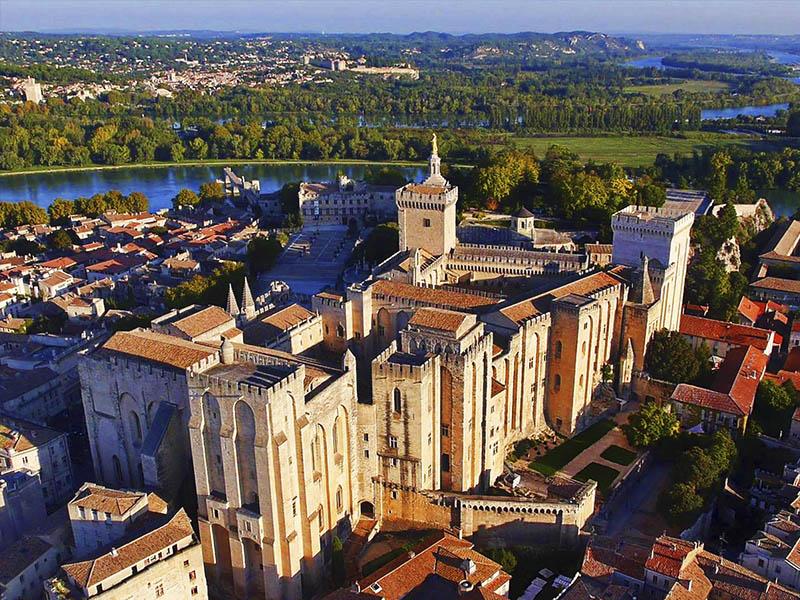 Французский городок Авиньон