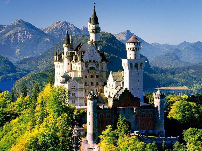 Чудо Германии – замок Нойшванштайн