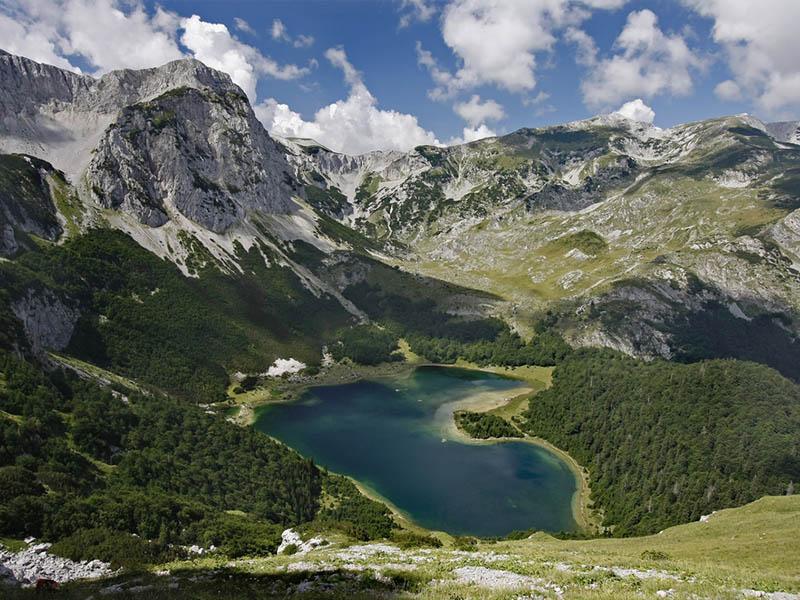 Достопримечательность Боснии: парк Сутейска