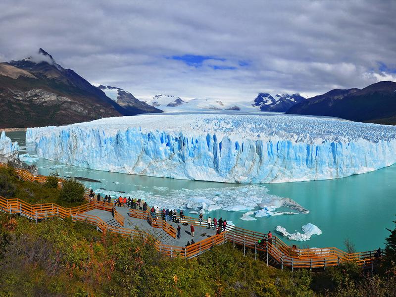 Аргентинская достопримечательность: ледник Перито Морено