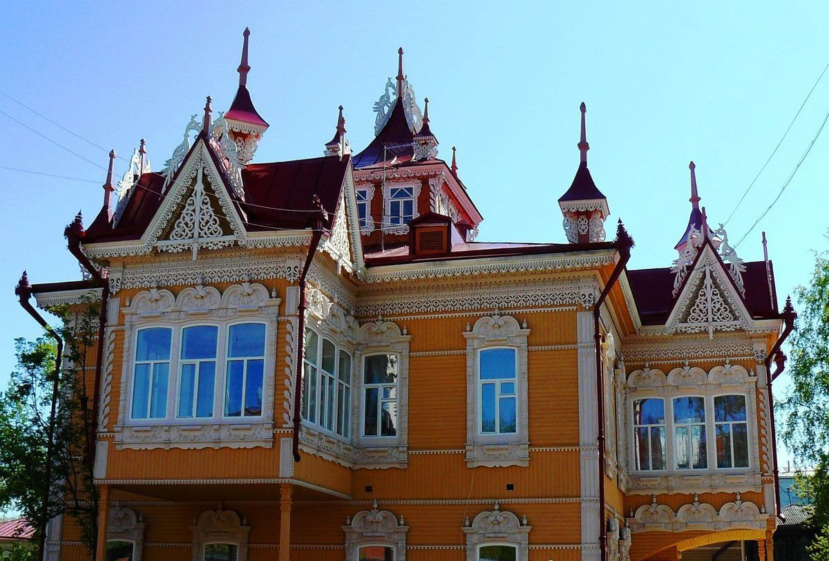 Томск - Сибирские Афины