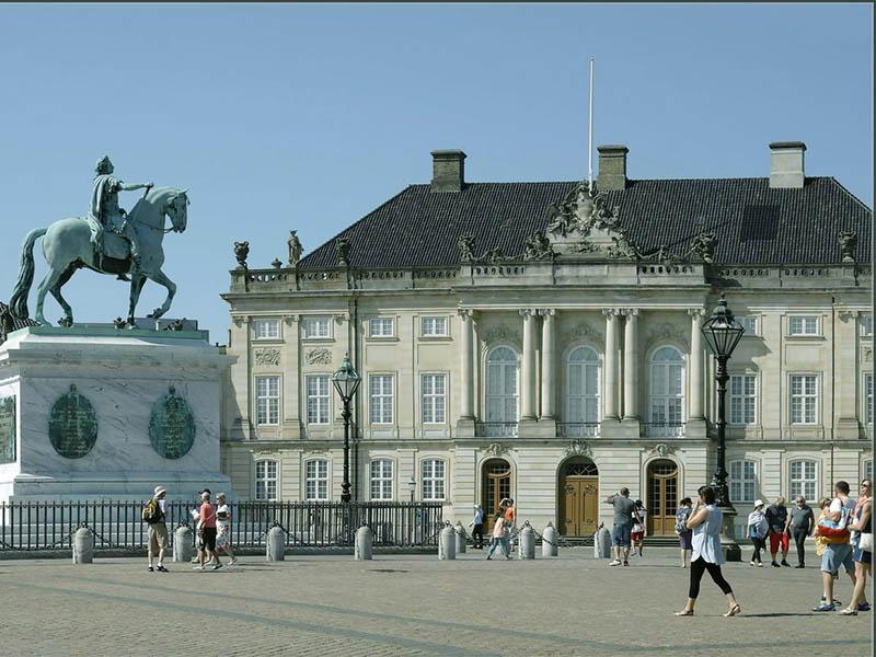 Дворце Кристиансборг