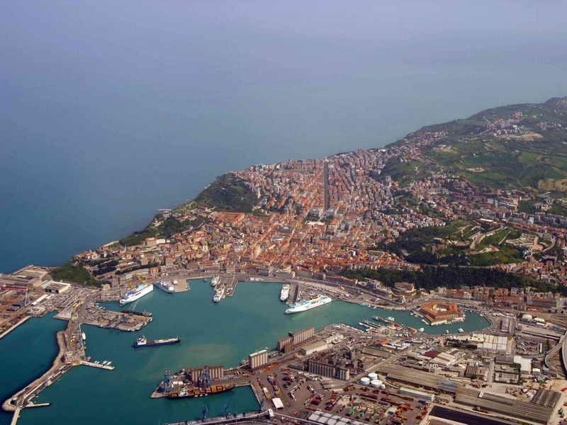 Итальянский городок Анкона