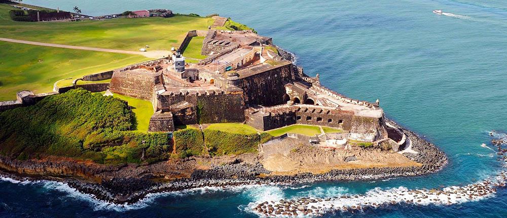 Пуэрто-Рико Кастильо-де-Сан-Фелипе дель Морро