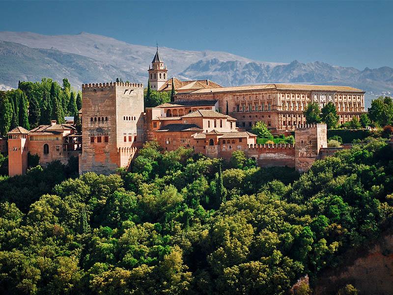 Чудо света Испании - Альгамбра