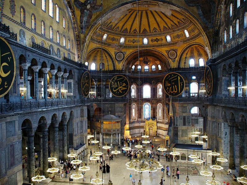 Турция Собор Святой Софии