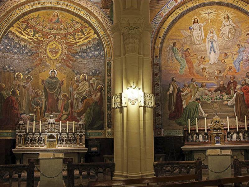 Святилище Богоматери в Лурде