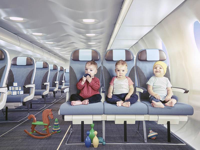 Комфортный перелет с малышом