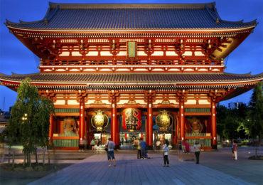 Достопримечательность Японии: храм Сенсо-Дзи