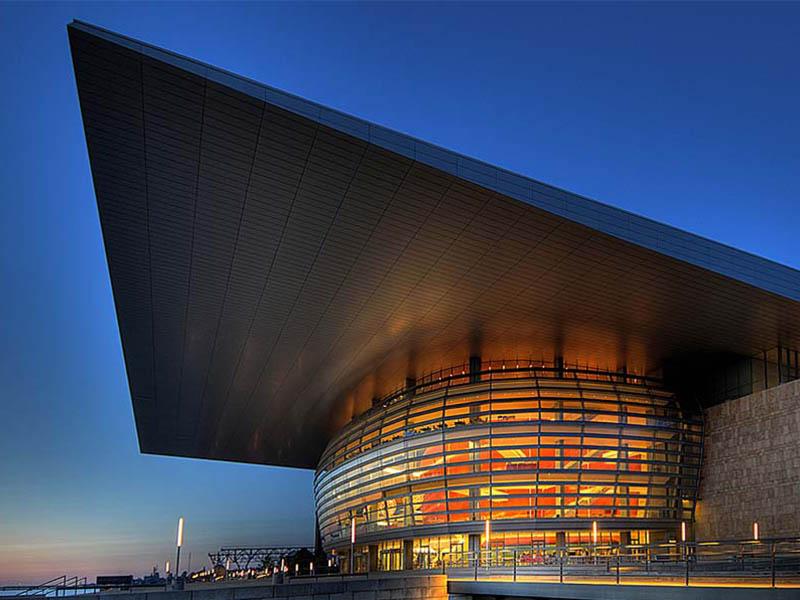 Копенгаген оперный театр