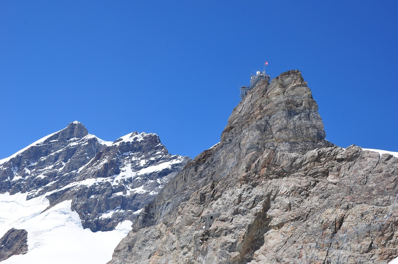 Гора швейцарских Альп